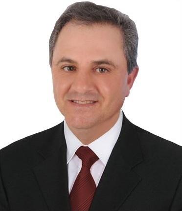 Foto de rosto do Vereador Adilso Antônio Salini.