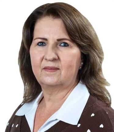 Foto de rosto da Vereadora Silvana Ceccon Burlini.