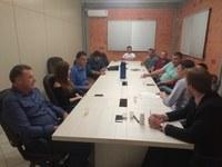 Legislativo e Executivo reuniram-se para discutir o parcelamento de solo em Pinto Bandeira